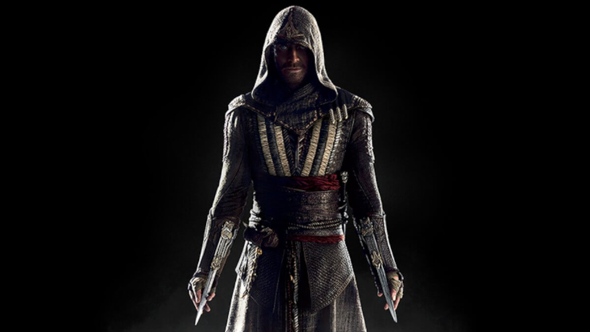 Michael Fassbender na primeira foto do filme de Assassin's Creed