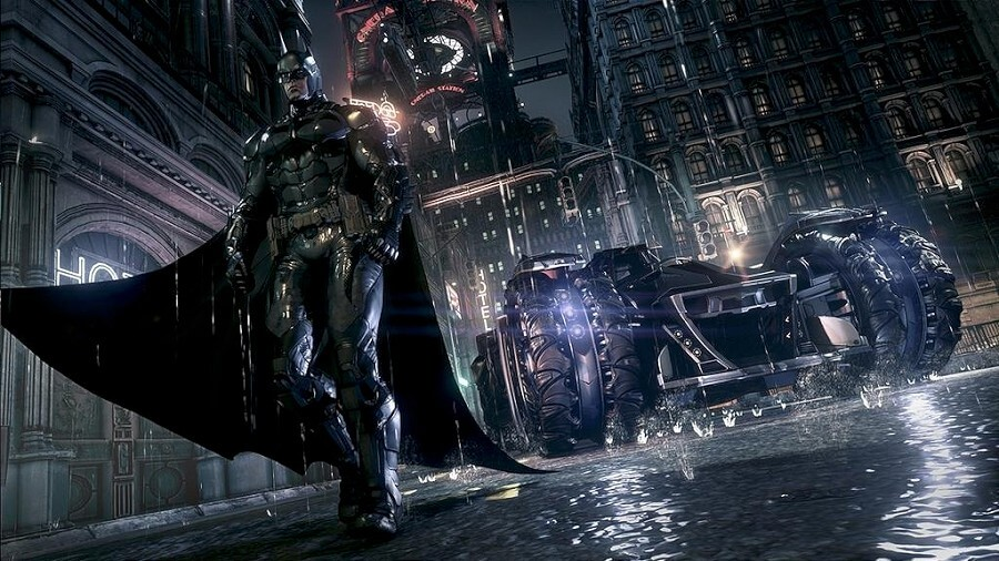 Screenshot do Batman: Arkham Knight
