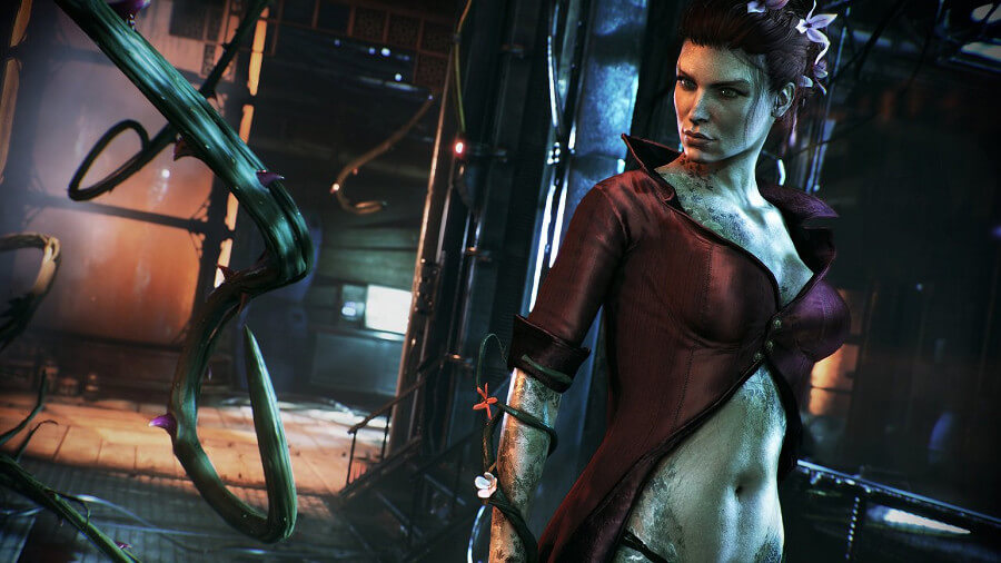 Hera Venenosa no Batman: Arkham Knight