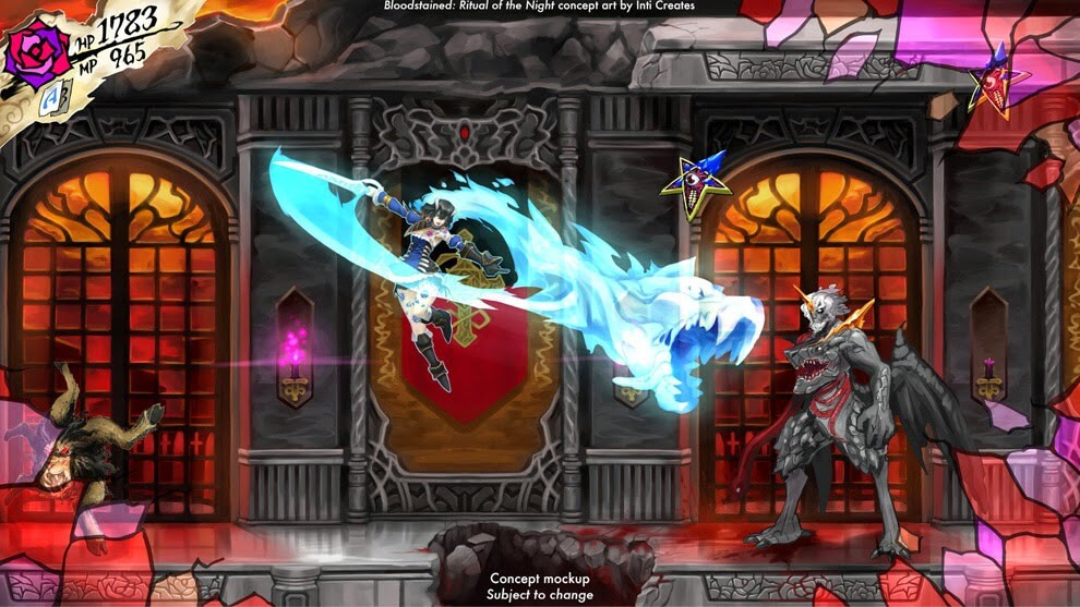 Arte conceitual do Bloodstained: Ritual of the Night