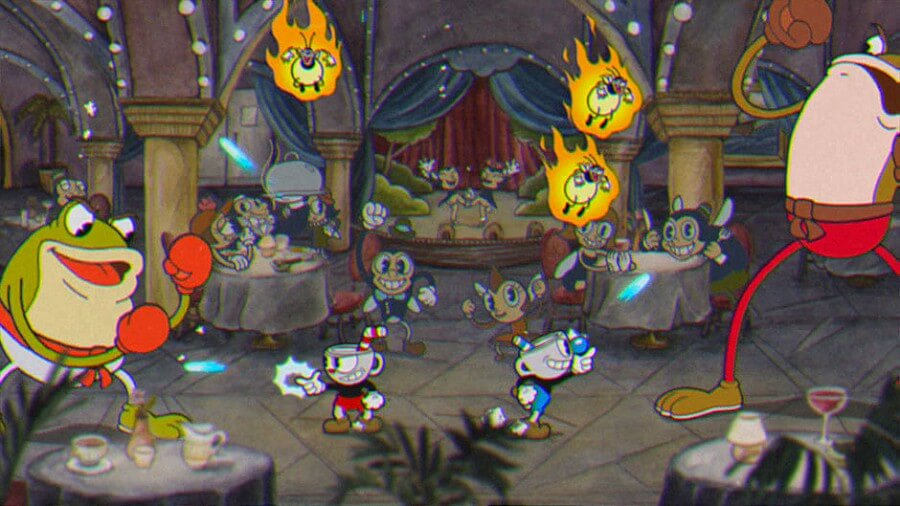 Screenshot do Cuphead