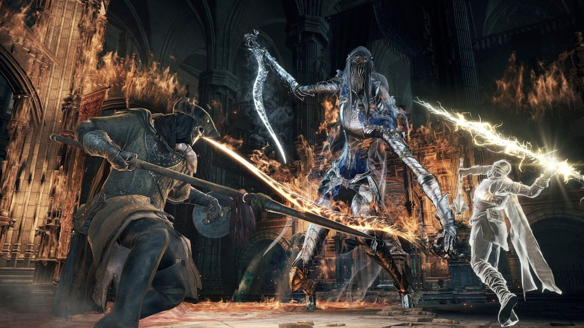 Abertura de Dark Souls III mostra os chefes e o enredo