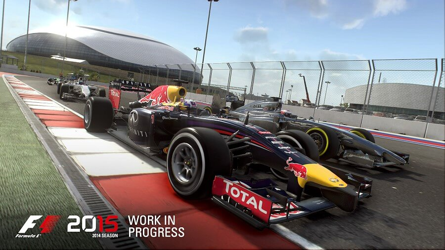 Screenshot do F1 2015