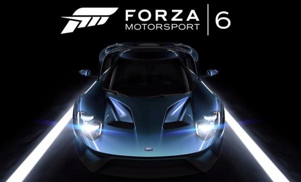Forza Motorsport 6 é anunciado para Xbox One