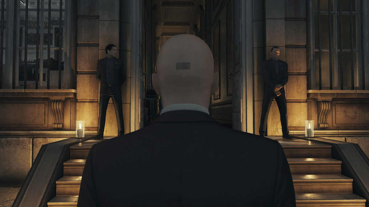 Screenshot do Hitman