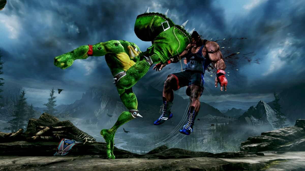 Battletoads no Killer Instinct