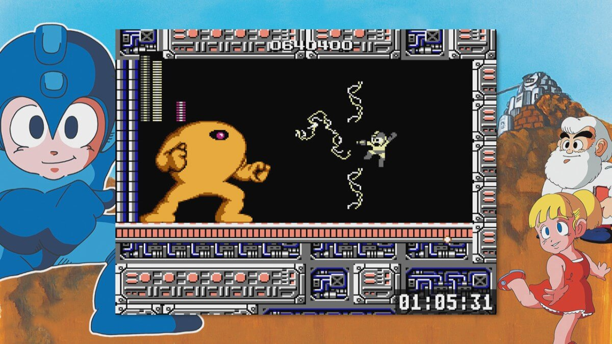 Screenshot do Mega Man Legacy Collection