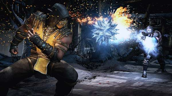 Screenshot do Mortal Kombat X