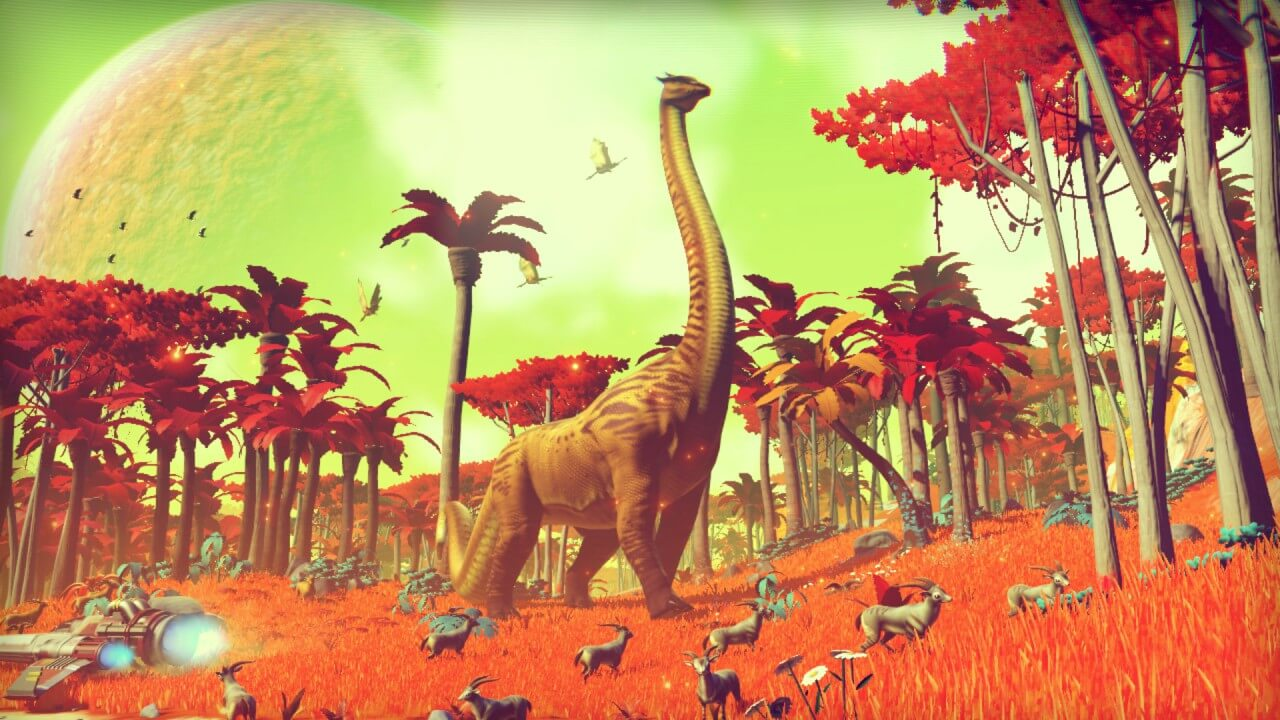Screenshot do No Man's Sky