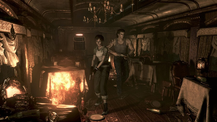 Primeira imagem do Resident Evil Zero HD