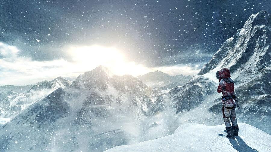 Novas imagens de Rise of the Tomb Raider