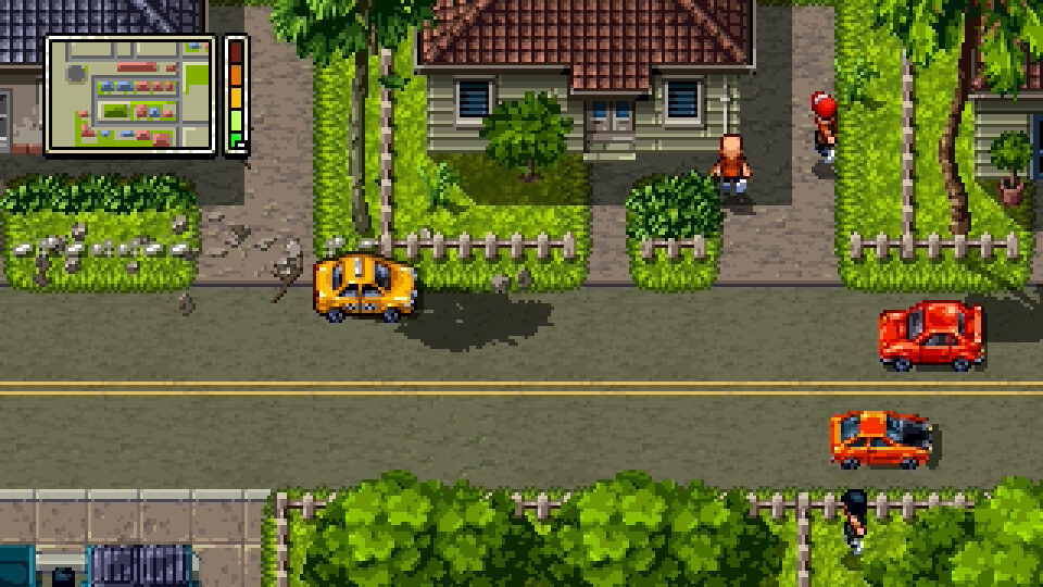 Screenshot do Shakedown Hawaii