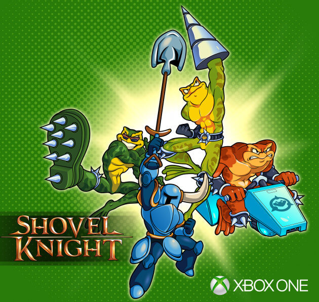 Battletoads no Shovel Knight