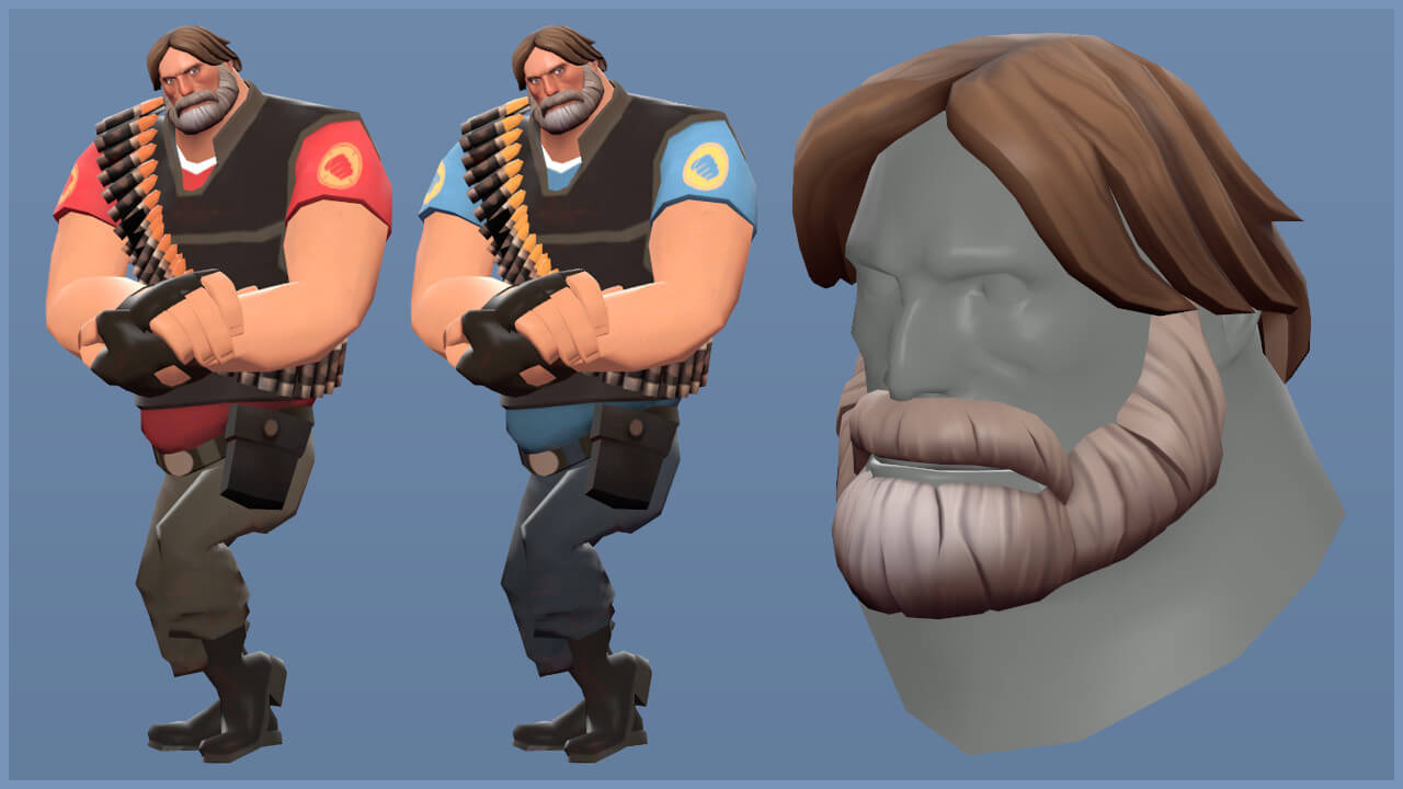 Gabe Newell no Team Fortress 2
