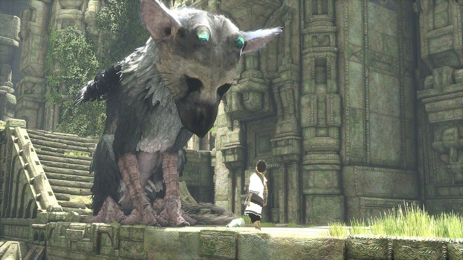 Imagens do The Last Guardian