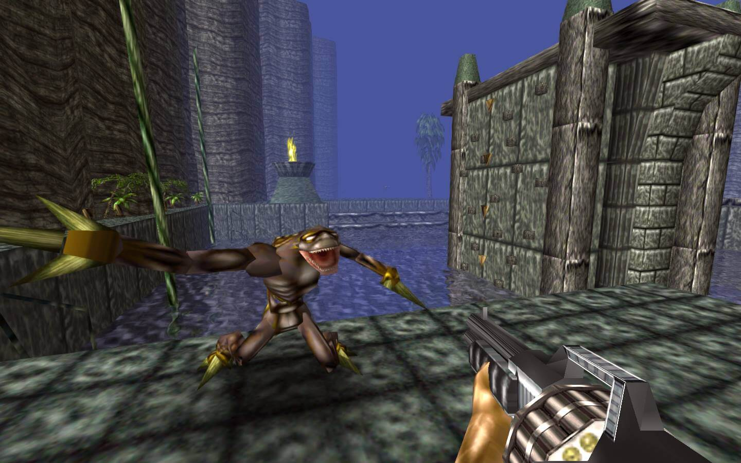 Screenshot do Turok