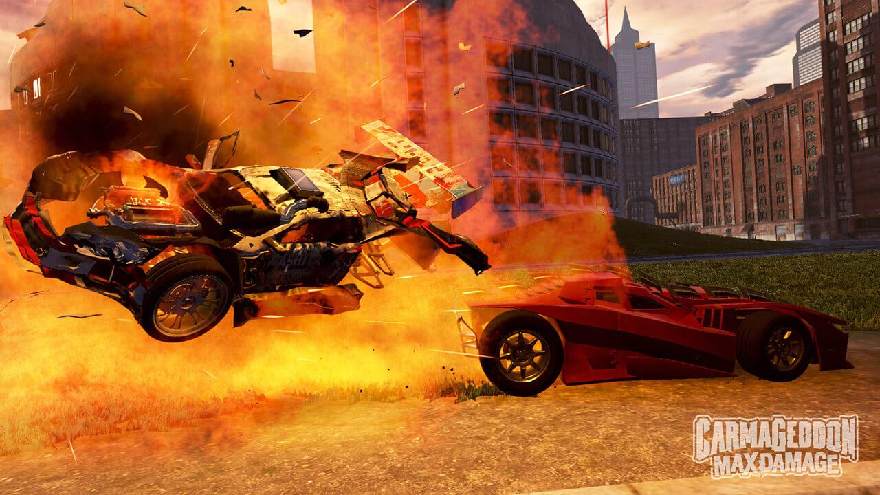 Carmageddon: Max Damage vai sair para PC, PlayStation 4 e Xbox One