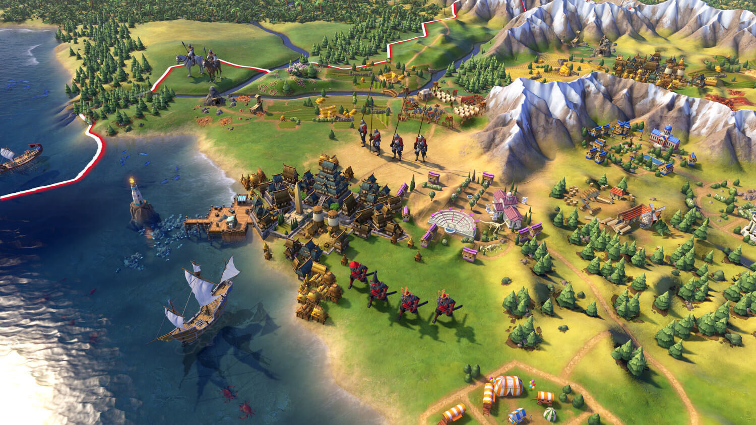 Screenshot do Civilization VI