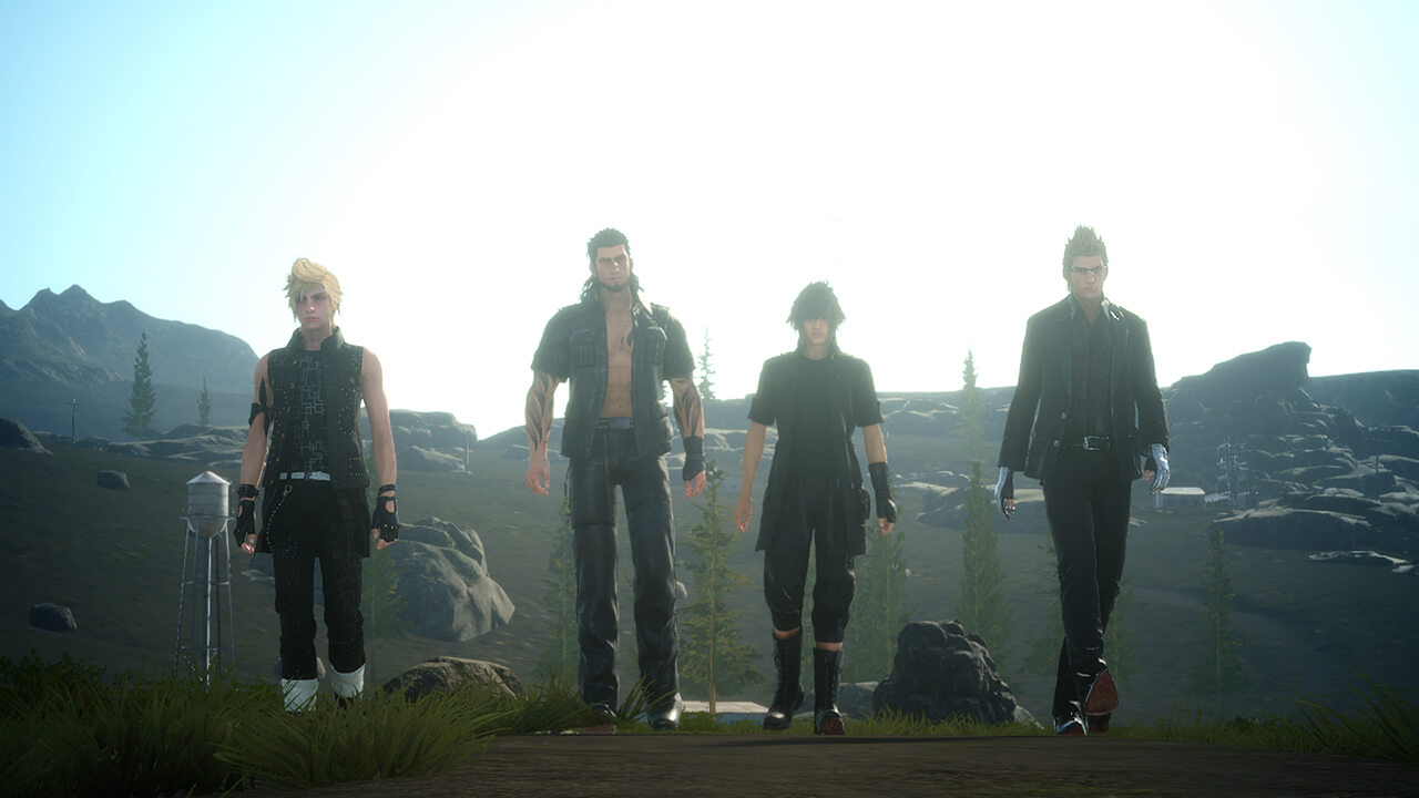 Screenshot do Final Fantasy XV