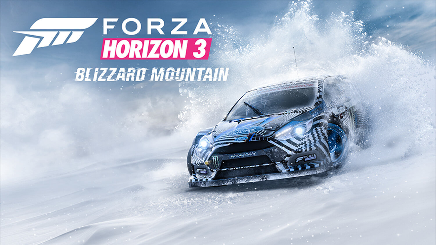 Expansão Blizzard Mountain de Forza Horizon 3