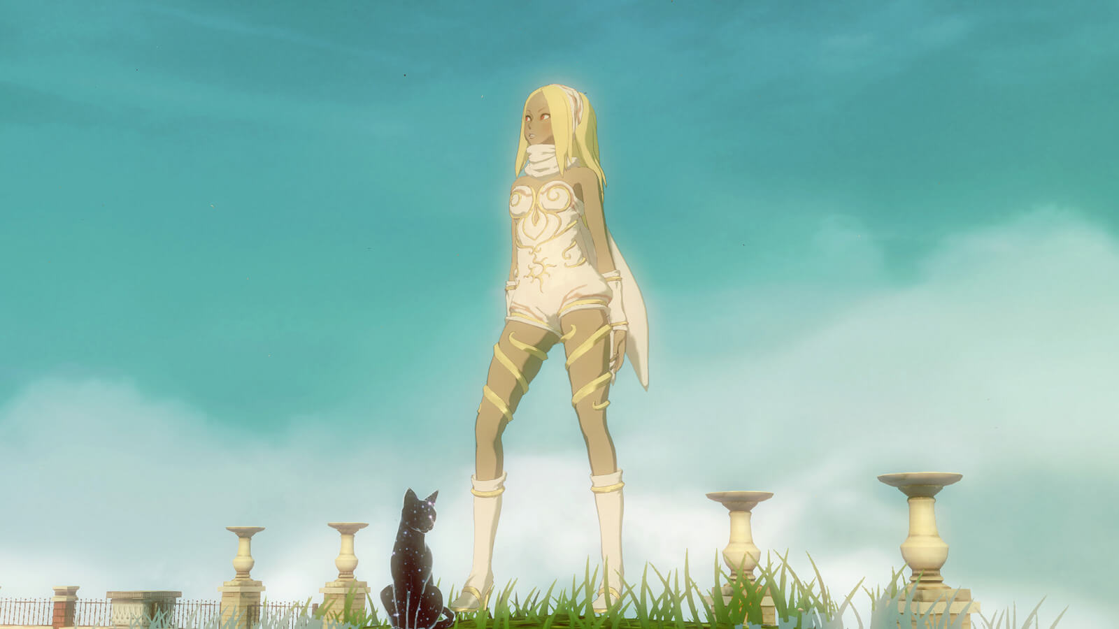 Screenshot do Gravity Rush 2