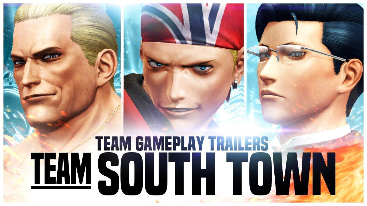 Novo trailer de The King of Fighters XIV apresenta equipe South Town