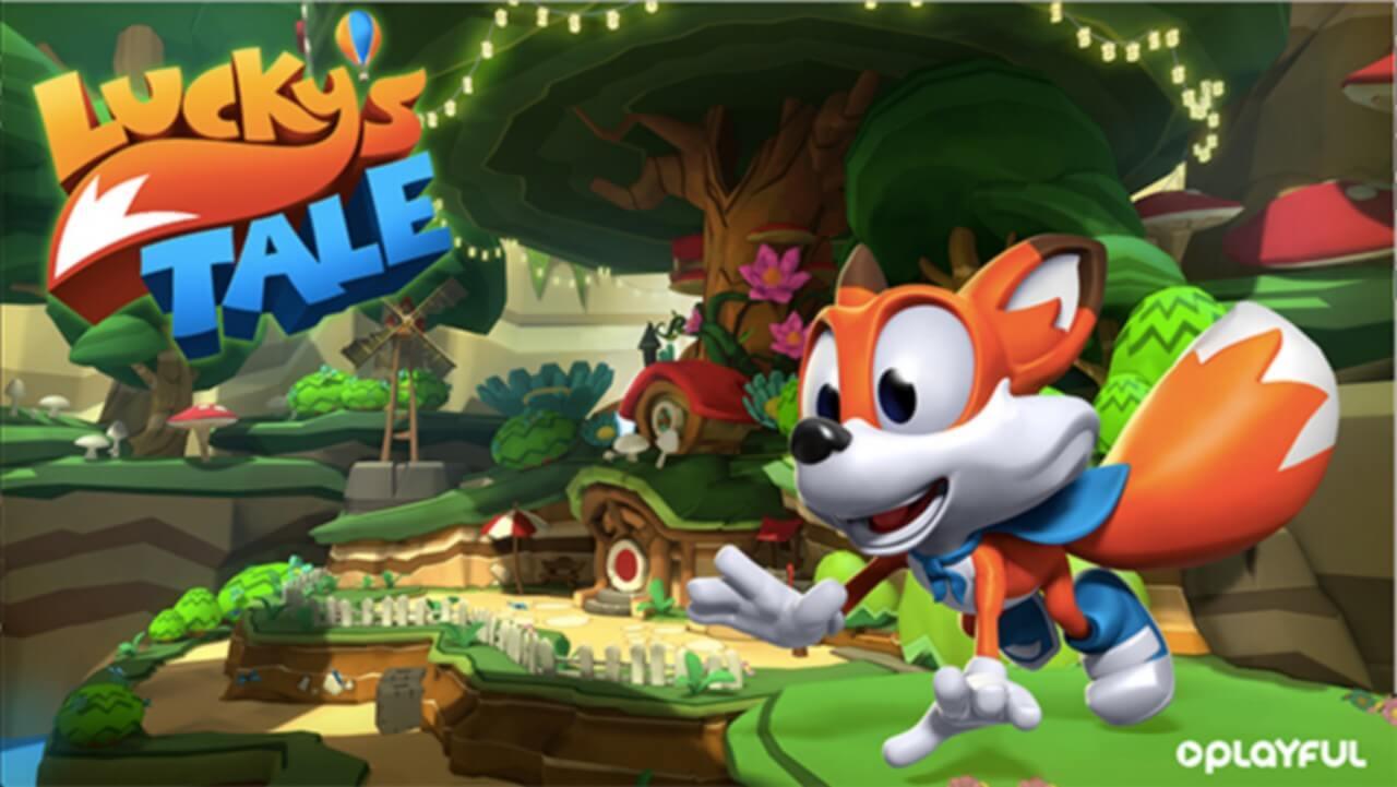 Oculus Rift virá com o jogo Lucky's Tale