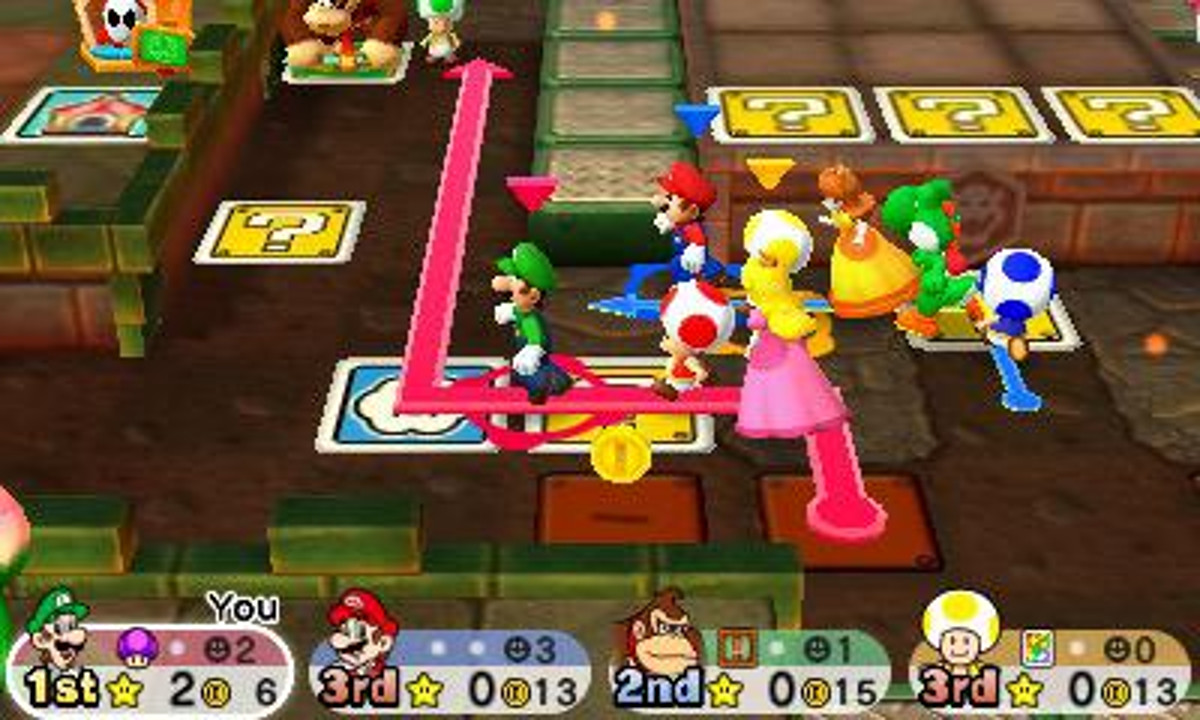 Screenshot de Mario Party: Star Rush