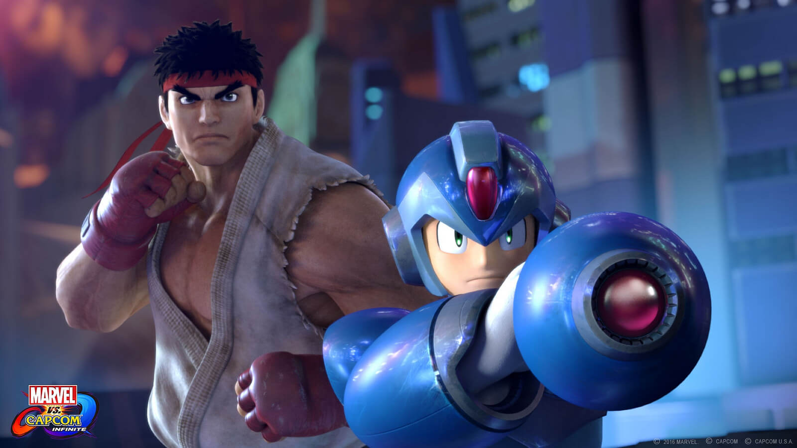 Screenshot de Marvel vs. Capcom Infinite