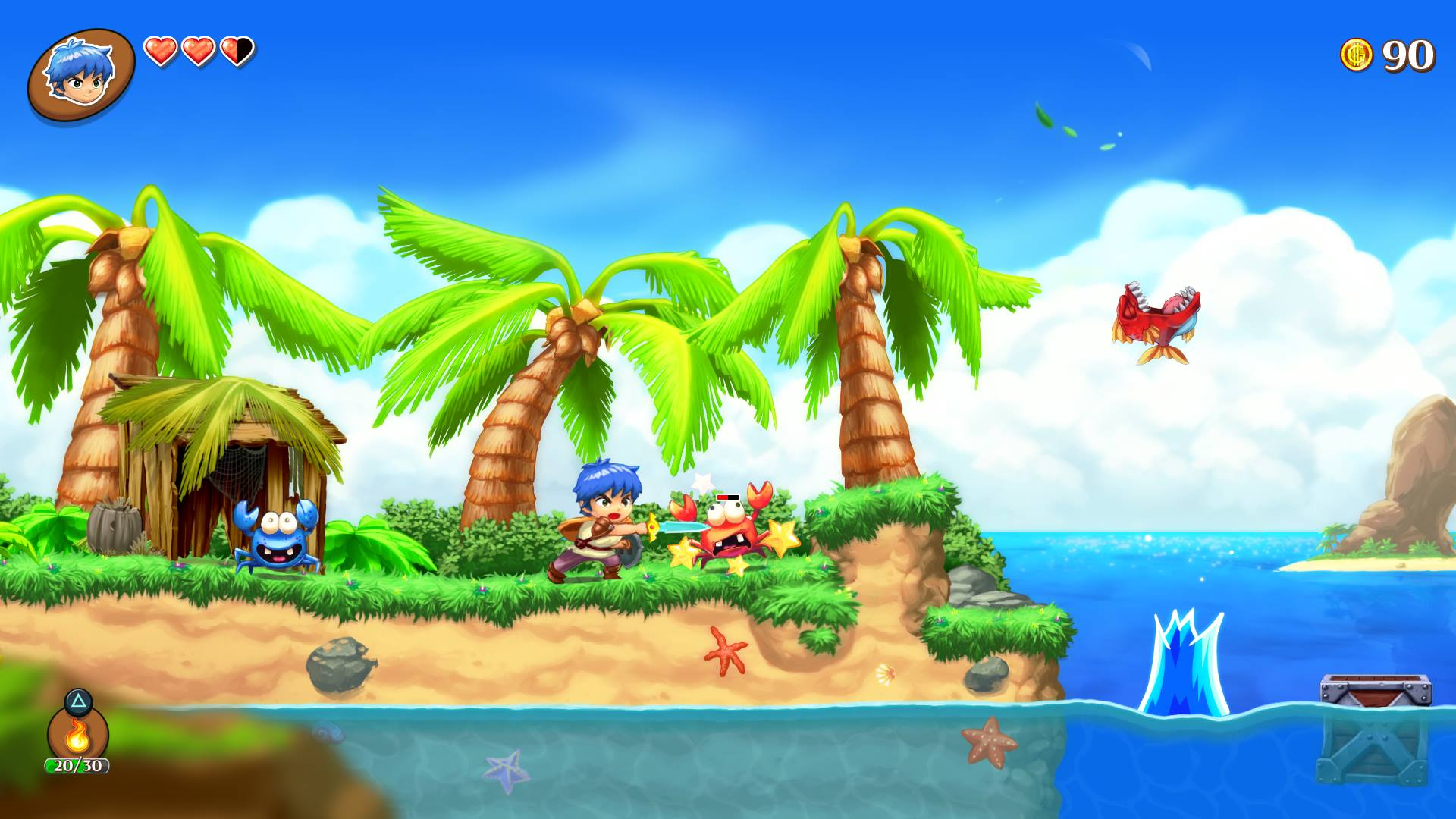 Screenshot de Monster Boy and the Cursed Kingdom