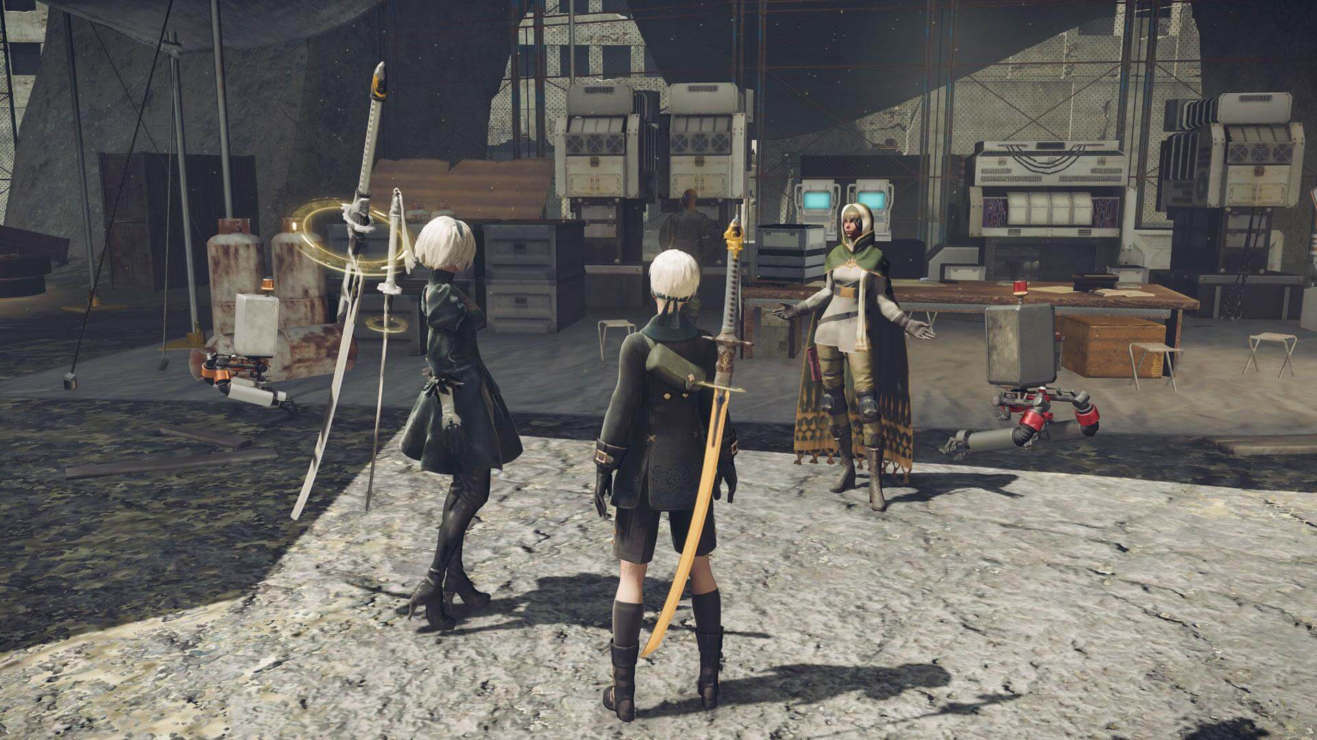 Screenshot de NieR: Automata