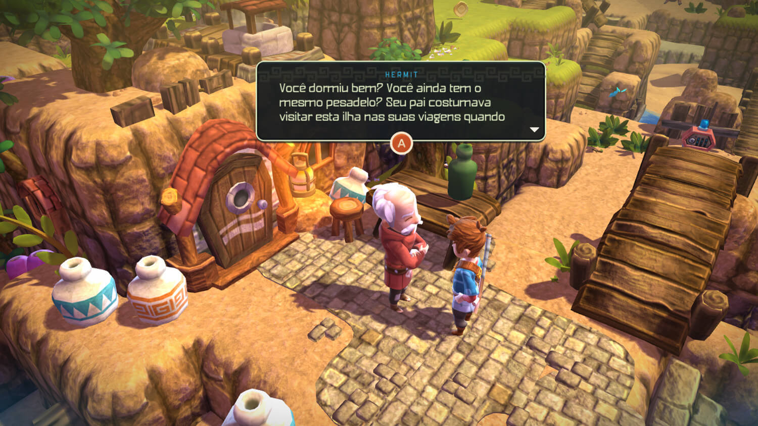 Screenshot de Oceanhorn