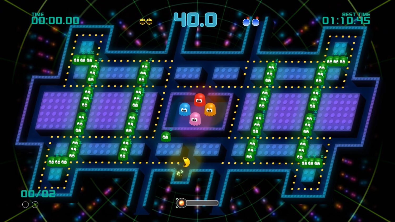 Screenshot de Pac-Man Championship Edition 2