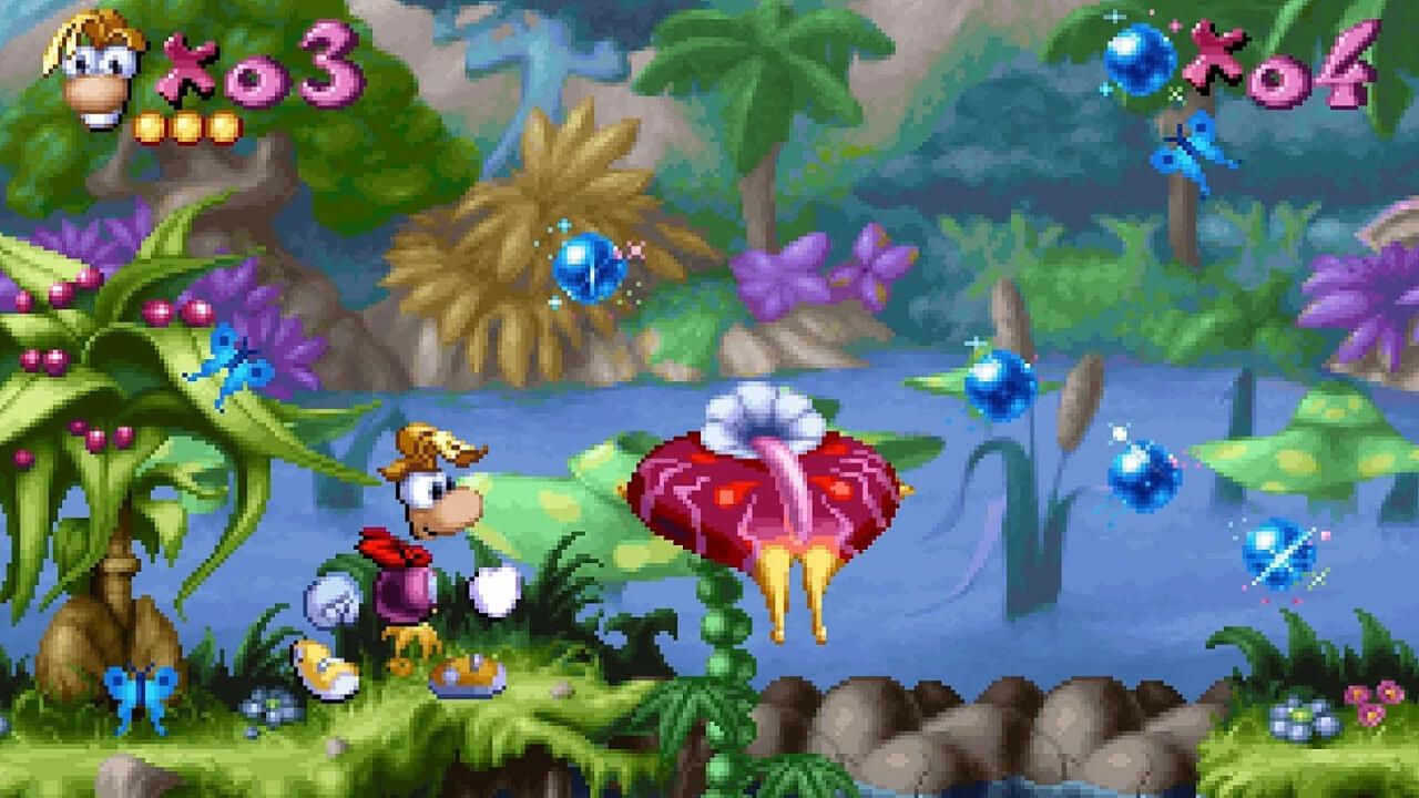 Screenshot do Rayman