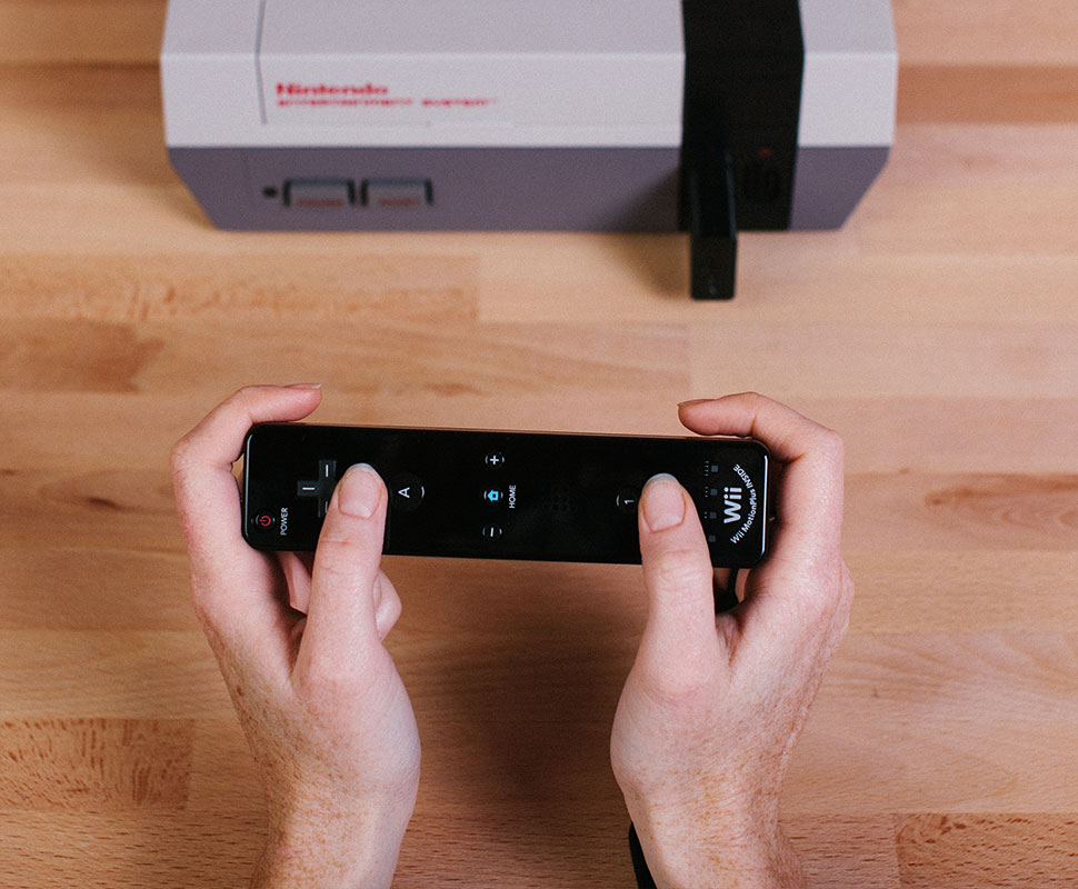 Use joysticks bluetooth no NES