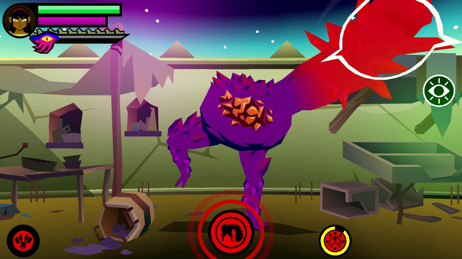 Screenshot do Severed