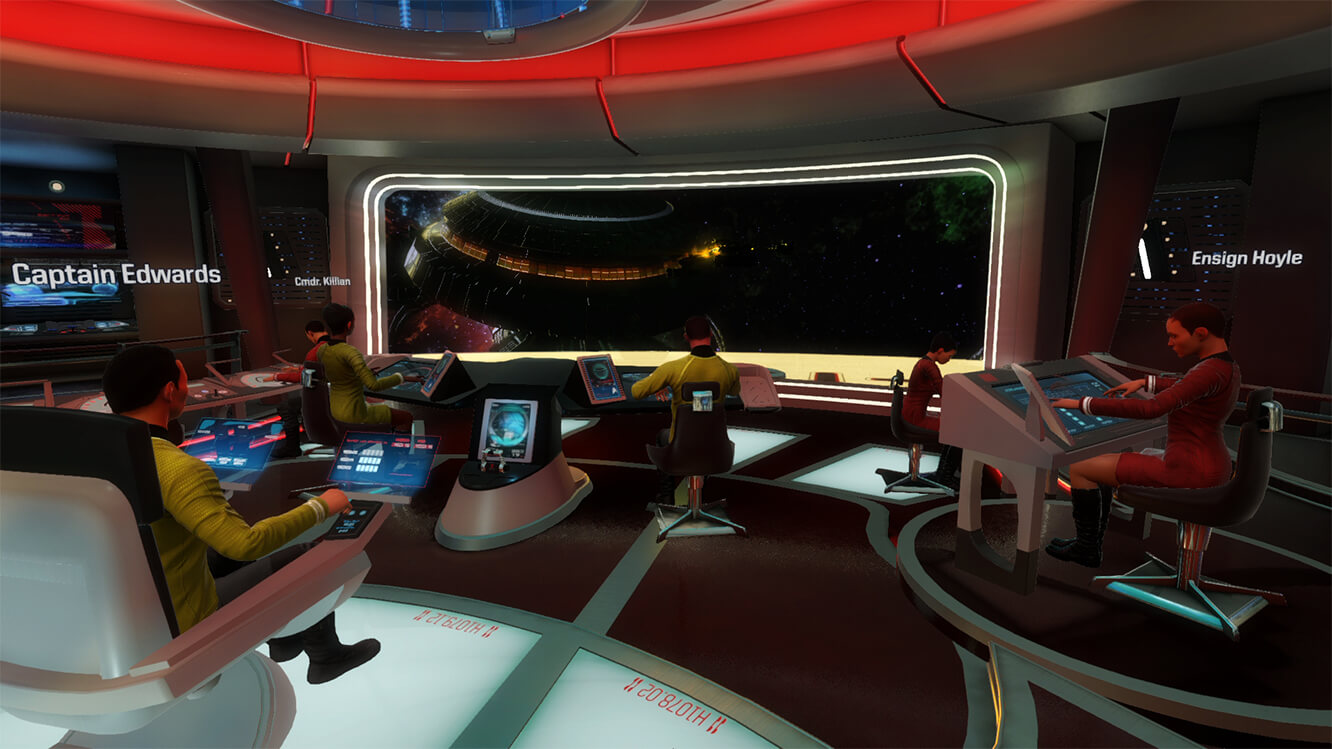 Screenshot do Star Trek: Bridge Crew