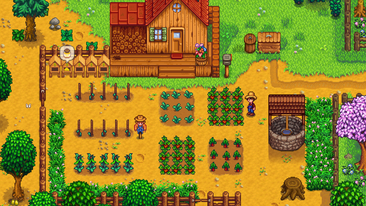 Screenshot do Stardew Valley