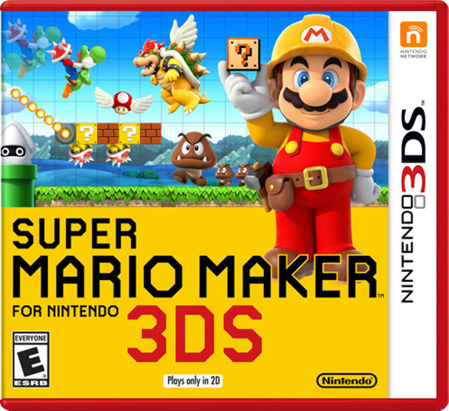 Capa do Super Mario Maker for Nintendo 3DS