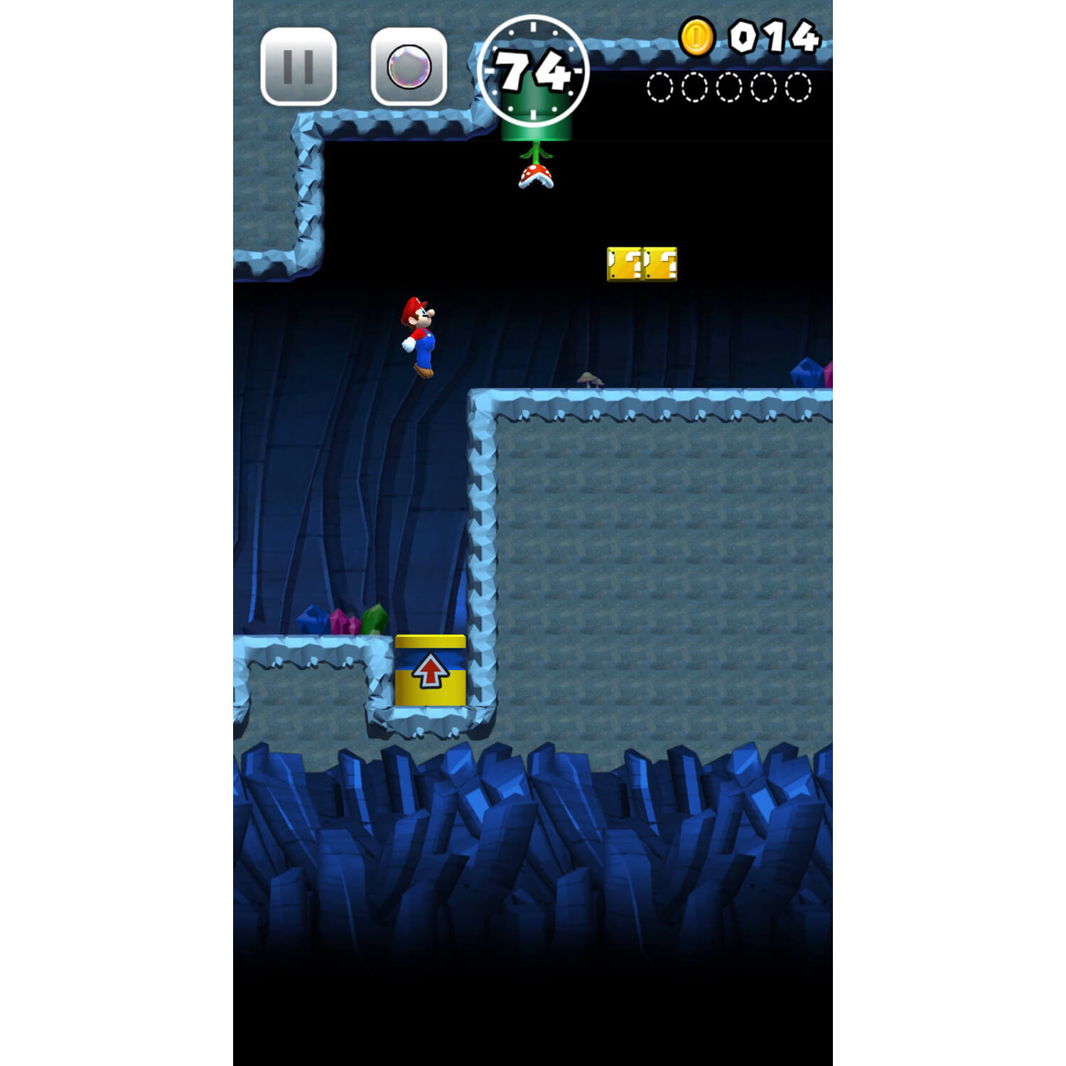 Screenshot de Super Mario Run