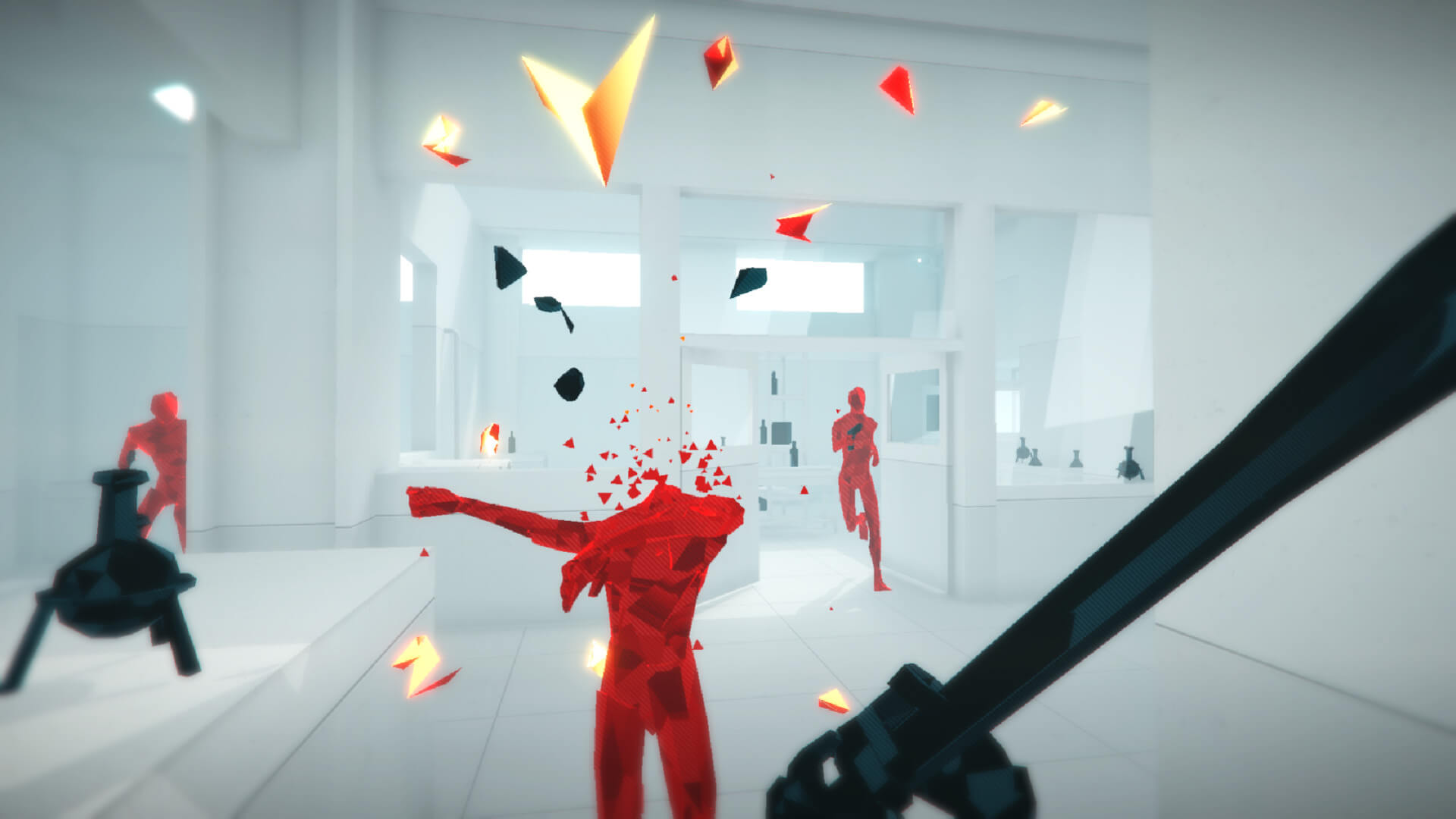 Screenshot do Superhot