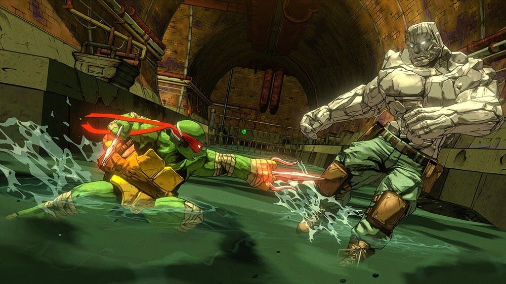 Screenshot do Teenage Mutant Ninja Turtles: Mutants in Manhattan