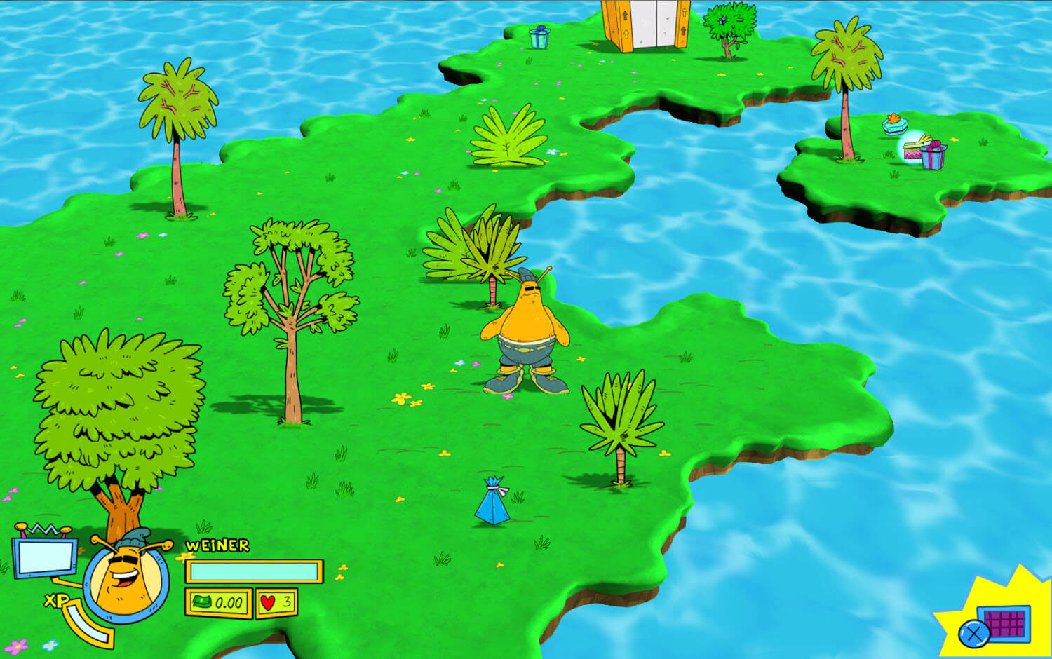 Screenshot de ToeJam & Earl: Back in the Groove