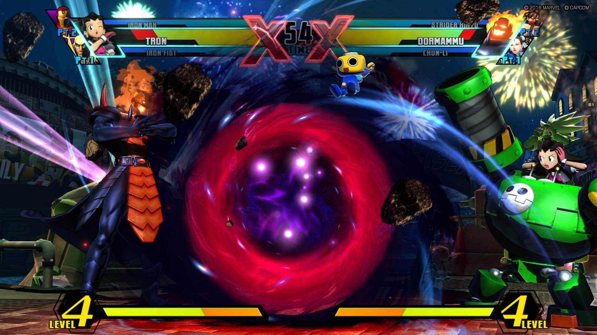 Screenshot de Ultimate Marvel vs Capcom 3