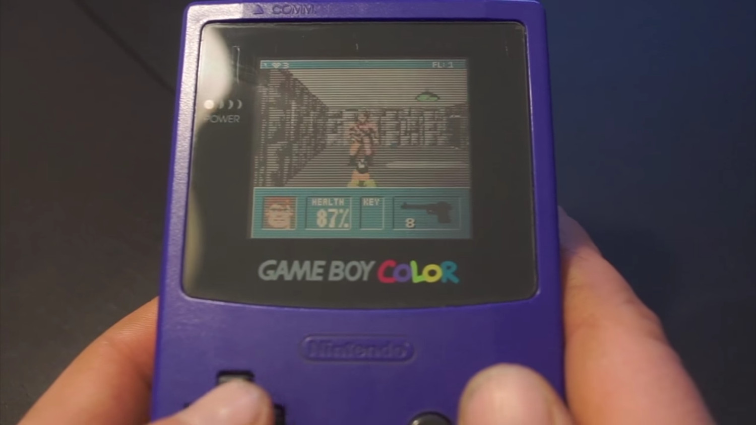 Wolfenstein 3D para Game Boy Color