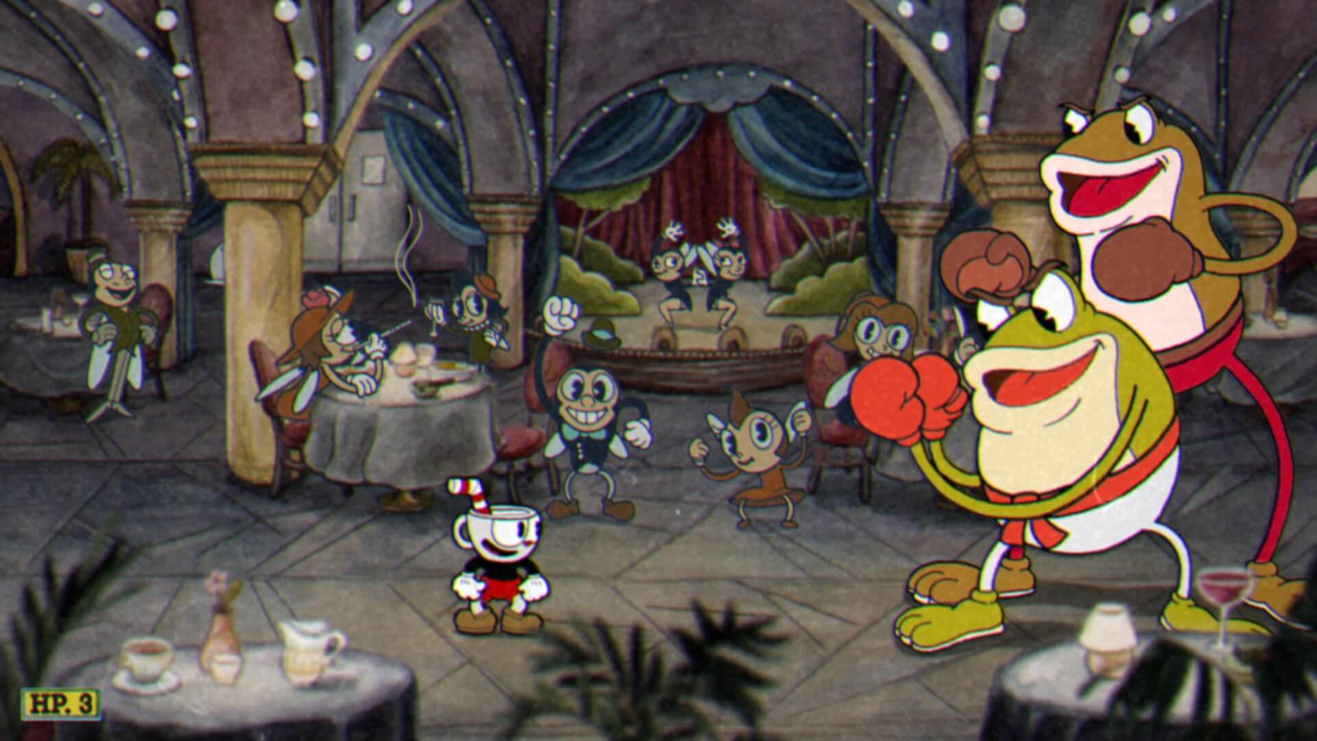 Screenshot de Cuphead