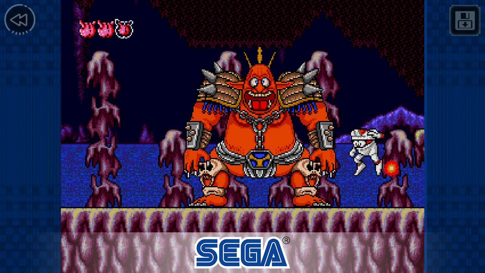 Decap Attack no Sega Forever