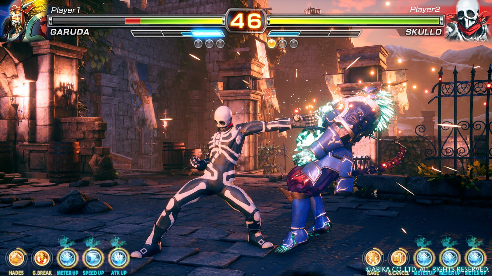 Screenshot de Fighting EX Layer