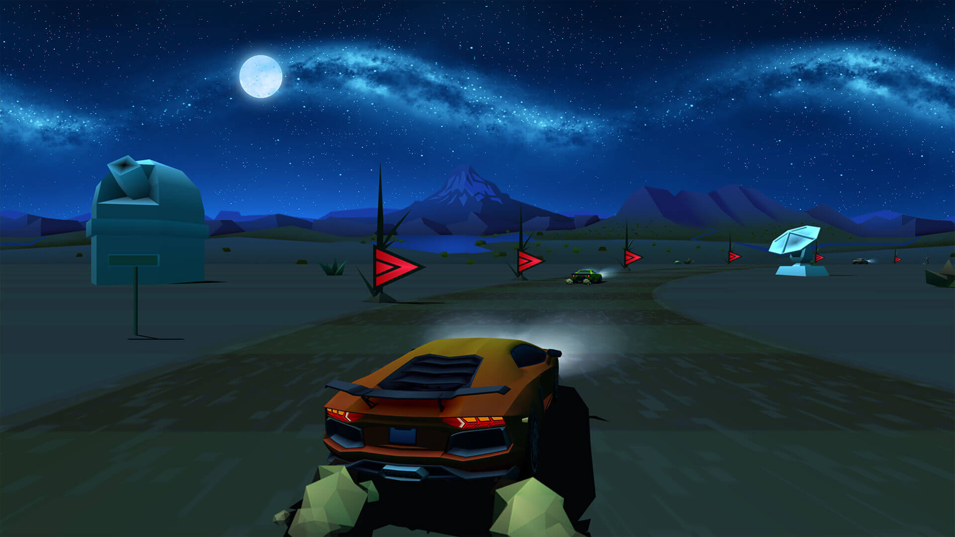 Screenshot de Horizon Chase Turbo