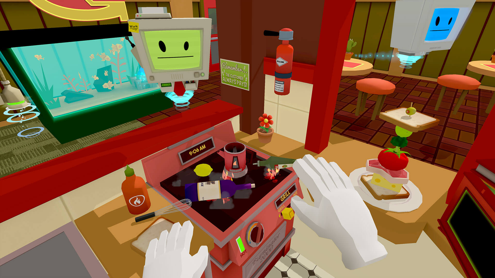 Screenshot de Job Simulator